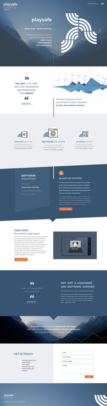Playsafe corporate web-design