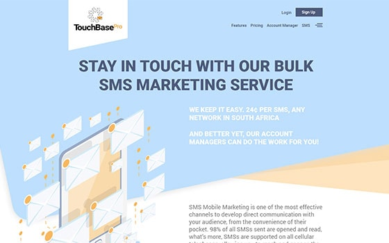 touchbase pro website