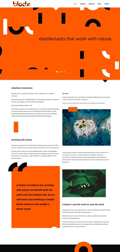 biodx creative website