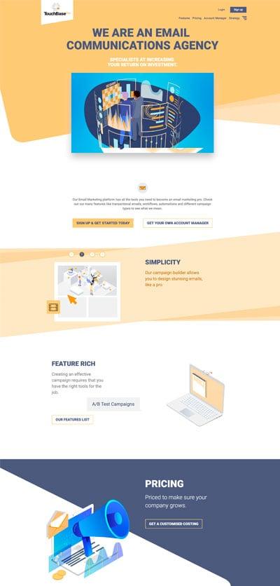 touchbase pro web dev