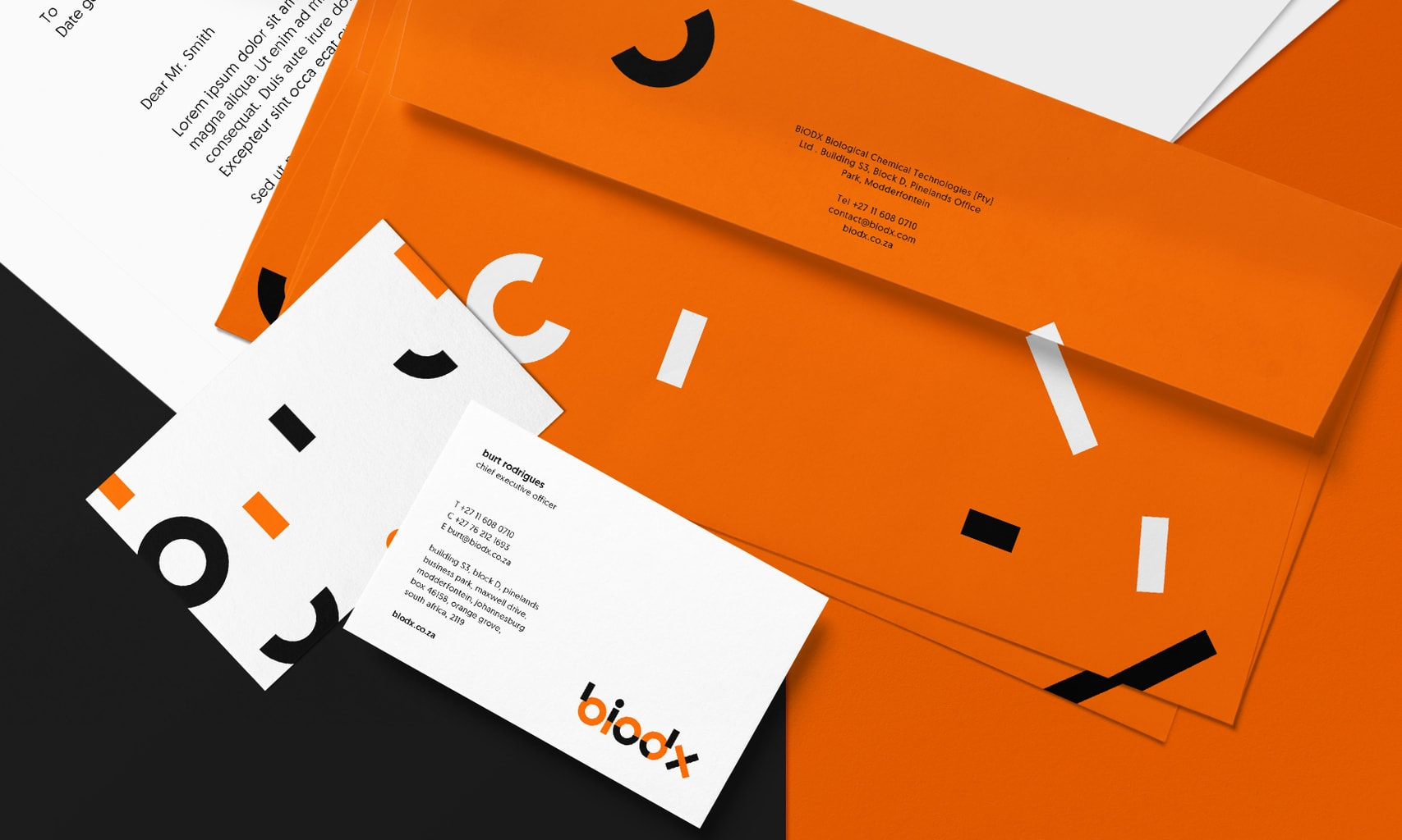 Graphic Design Business Stationary