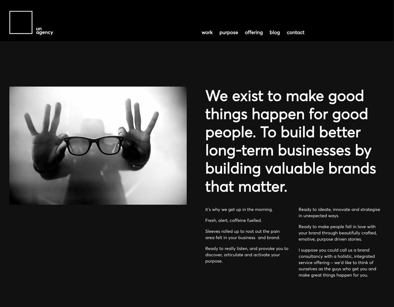 agency website design and development