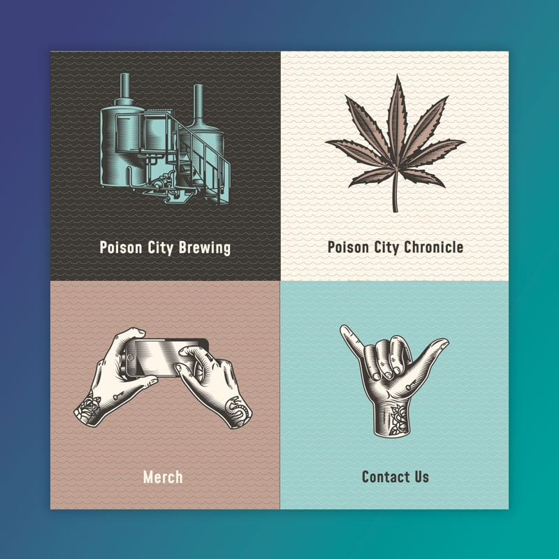Poison City Brewing Website Development