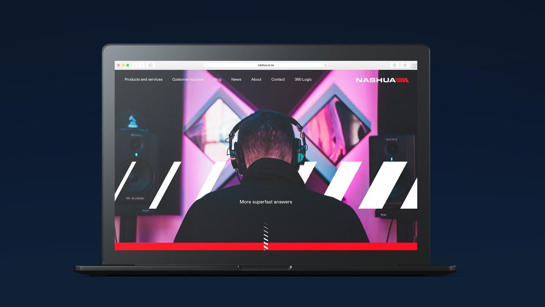 Nashua Web design