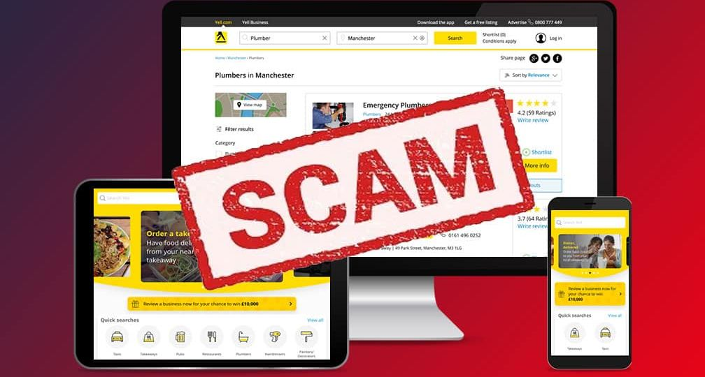 yell is an seo scam and you should avoid them