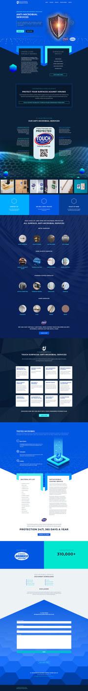 Full wordpress design layout