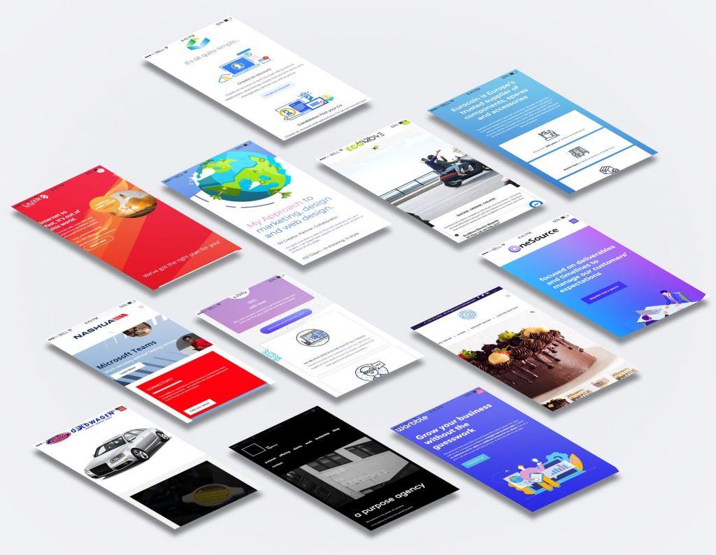 mobile responsie website design